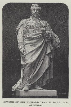 Statue of Sir Richard Temple, Baronet, Mp, at Bombay