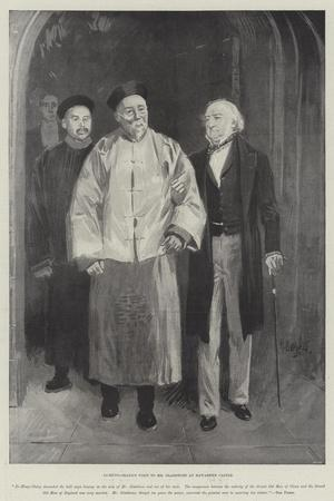 Li-Hung-Chang's Visit to Mr Gladstone at Hawarden Castle
