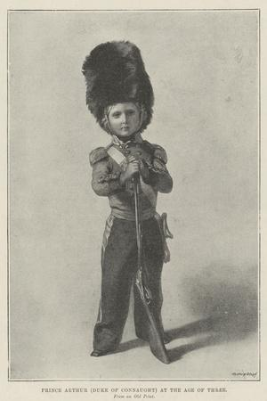 Prince Arthur (Duke of Connaught) at the Age of Three