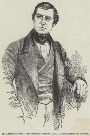 The Attorney-General, Sir Frederick Thesiger