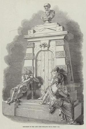 Monument to the Late Lord Holland, by E Baily, Ra