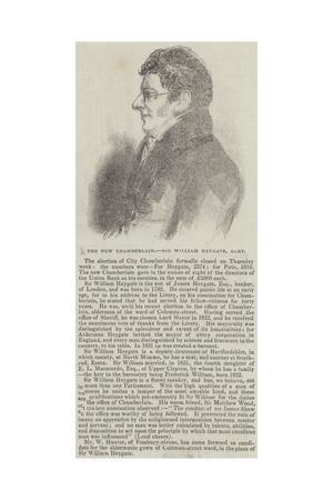 The New Chamberlain, Sir William Heygate, Baronet