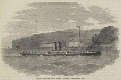 The Four-Paddle-Wheel Danube Steamer, Tachtalia