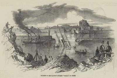 Accident to Her Majesty's Steamer Cuckoo, at Jersey