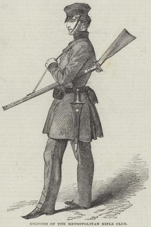 Uniform of the Metropolitan Rifle Club