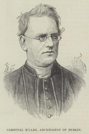 Cardinal M'Cabe, Archbishop of Dublin