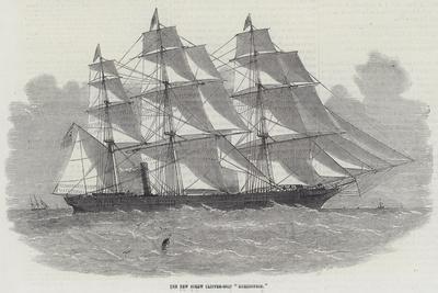 The New Screw Clipper-Ship Khersonese