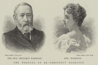 The Wedding of Ex-President Harrison