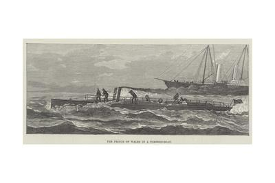 The Prince of Wales in a Torpedo-Boat