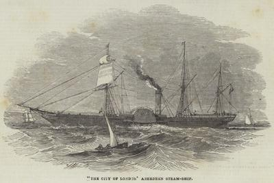 The City of London Aberdeen Steam-Ship