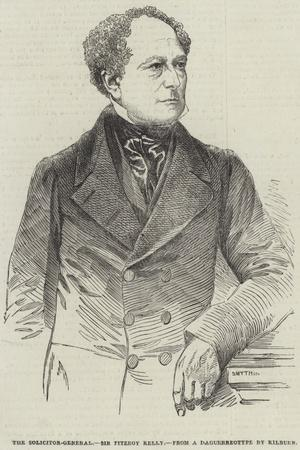 The Solicitor-General, Sir Fitzroy Kelly