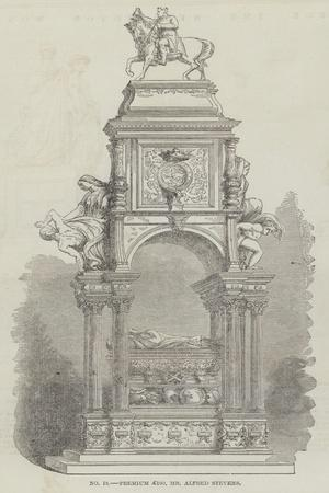Prize Model for the Wellington Monument