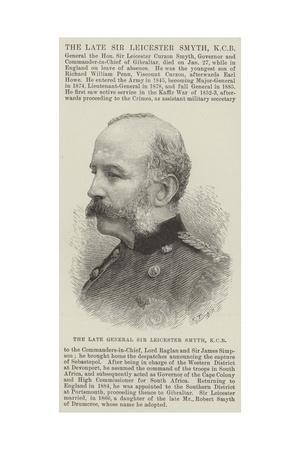 The Late General Sir Leicester Smyth