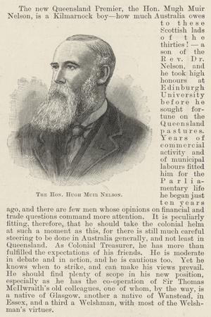 The Honourable Hugh Muir Nelson
