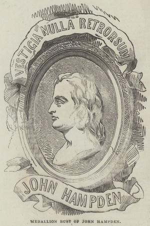 Medallion Bust of John Hampden