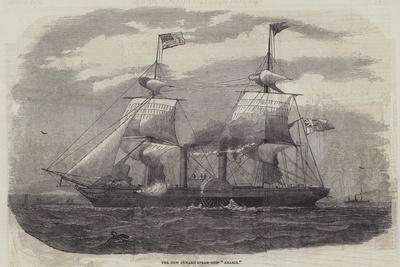 The New Cunard Steam-Ship Arabia
