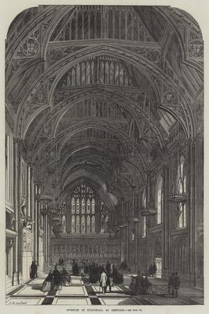 Interior of Guildhall, as Restored
