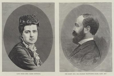 Charles Dilke and Lady Dilke