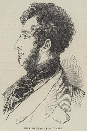 Sir E Bulwer Lytton, Baronet