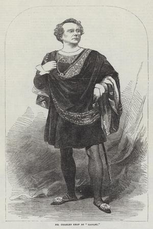 Mr Charles Kean as Hamlet