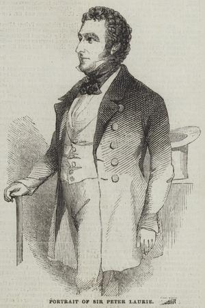 Portrait of Sir Peter Laurie