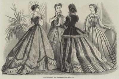 Paris Fashions for December