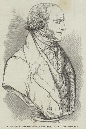 Bust of Lord George Bentinck