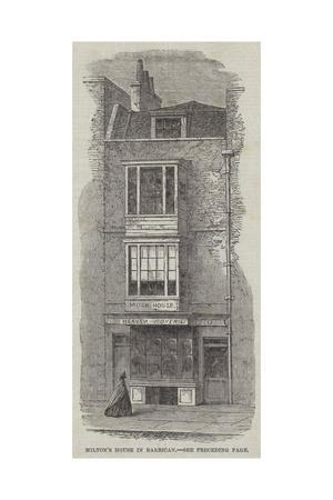 Milton's House in Barbican