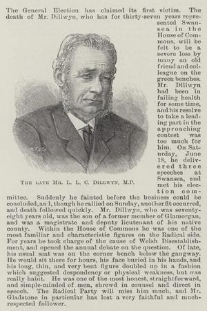 The Late Mr L L C Dillwyn