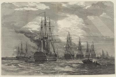 The British Fleet at Spithead