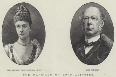 The Marriage of Lord Alington