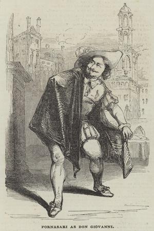 Fornasari as Don Giovanni