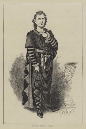 Mr Edwin Booth as Hamlet