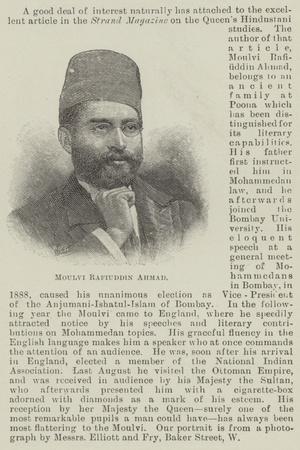 Moulvi Rafiuddin Ahmad