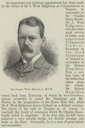 Sir Joseph West Ridgeway
