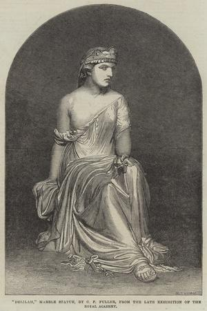 Delilah, Marble Statue