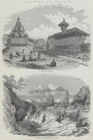 Sketches in Nepaul