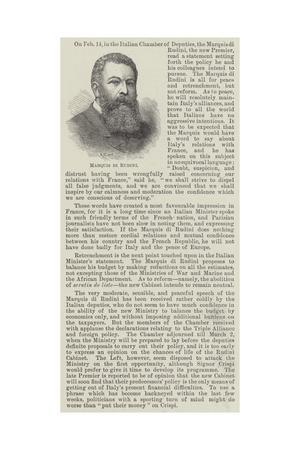 Marquis Di Rudini