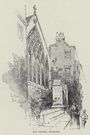 Ely Chapel, Holborn