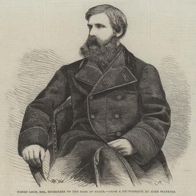 Henry Loch, Esquire, Secretary to the Earl of Elgin