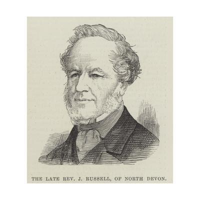 The Late Reverend J Russell, of North Devon