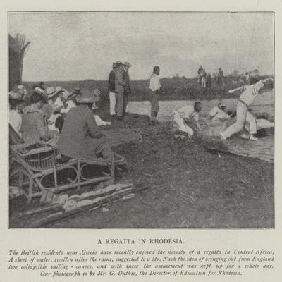 A Regatta in Rhodesia