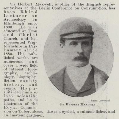 Sir Herbert Maxwell