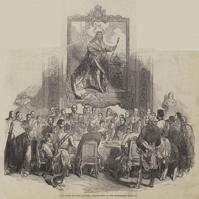 The Court of Louis Philippe, Ratification of the Montpensier Marriage