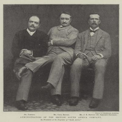 Administrators of the British South Africa Company