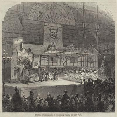 Christmas Entertainments at the Crystal Palace