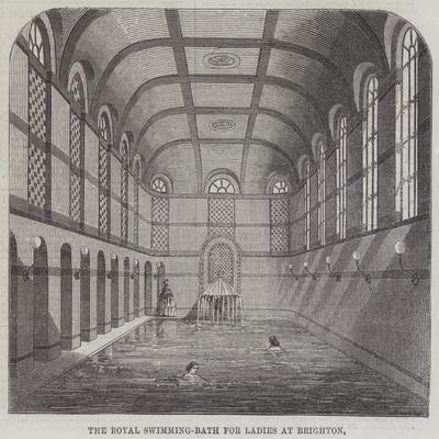 The Royal Swimming-Bath for Ladies at Brighton