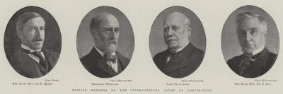 British Members of the International Court of Arbitration