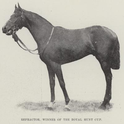 Refractor, Winner of the Royal Hunt Cup