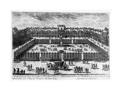 Perspective View of the Place Des Vosges